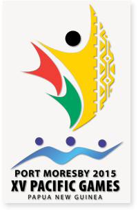 Pacific Games 2015 logo